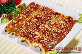 cuisiner des anguilles anguille au miel recette chinoise