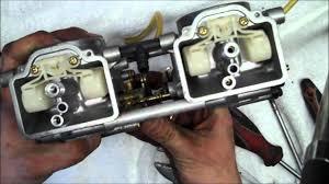 how to clean flat slide carburetors youtube