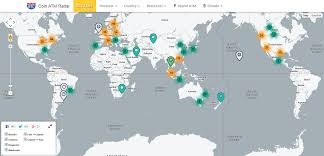 Kuwait On A Map Bitcoin Atm Locations Worldwide