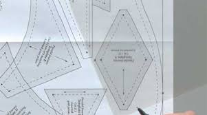 Quilting Templates Plastic tuesday tutorial and using quilting templates the quilting