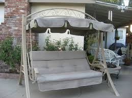 Lowes Swing Canopy Replacement by Patio Gliders And Swings Outdoor Furnitureons Clearance Porch