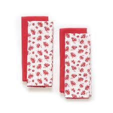 pioneer woman fall flowers kitchen towels set of 4 walmart com