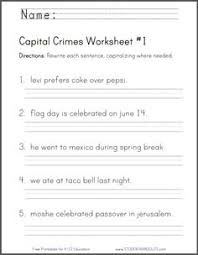 are there free printables to help students practice capital