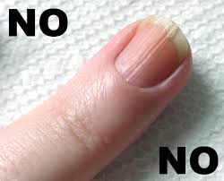 line on nails vitamin deficiency awesome nail