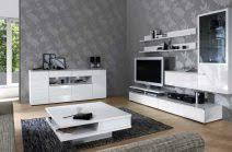 tapeten fr wohnzimmer mit weien hochglanz mbeln attraktiv tapeten für wohnzimmer mit weißen hochglanz möbeln 93