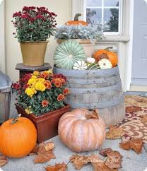 Fall Harvest Outdoor Decorating Ideas - 29 best outdoor fall decor non scary halloween decorations images