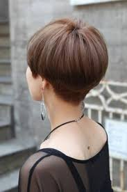 back view of wedge haircut styles back view of cute short japanese haircut back view of bowl
