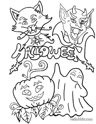 Free Printable Halloween Coloring Sheets by 100 Scary Monster Coloring Pages 110 Best Horror Coloring Pages