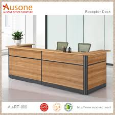 Reception Desk Wood by 2017 New Design Wood Cutting Office Table Modern Wood Reception
