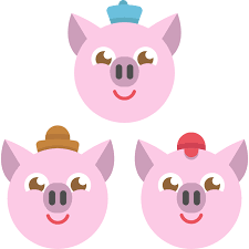 piglets animals characters fairy tale legend fantasy