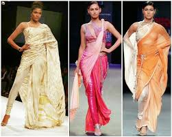 Fish Style Saree Draping Fashionable Cloths 25 Different Way To Wear Saree