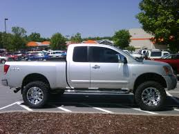 nissan frontier lifted rear suspension lift advice needed pics nissan titan forum