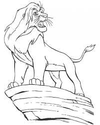 mufasa free coloring pages on art coloring pages