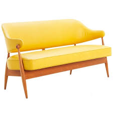 Yellow Leather Sofa 20 Inspirations Of Leather Bench Sofas