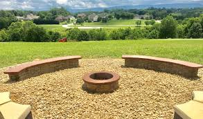 fire pit with seating stamped concrete fire pit with seating concrete craft