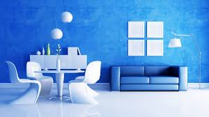 blue living room interior design wallpaper for beautiful home idolza