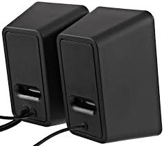 amazon com amazonbasics usb powered computer speakers computers