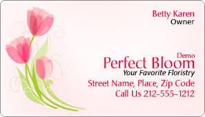 floral business card 2x3 5 custom floral and gifts business card magnets 20 mil square