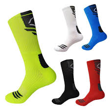 best elite basketball socks thick compression sport socks