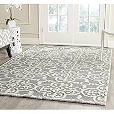 8x10 Wool Area Rugs Amazon Com Safavieh Cambridge Collection Cam123d Handcrafted