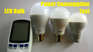 led bulb power consumption test philips eveready with energy meter