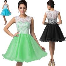 wholesale women short lace prom dress blue black pink yellow green
