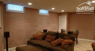 peaceful design ideas basement wall not drywall new finish walls