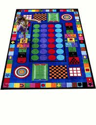 Kids Carpets Pristine Butterfly Design Childrens Room Rug Green Cream Plus Kids