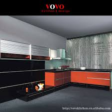 online get cheap contemporary kitchen backsplash aliexpress com 2016 new design contemporary kitchen cabinets high gloss black color