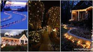 Christmas Light Ideas by 46 Magical Christmas Lighting Ideas To Bring Joy U0026 Light On Your