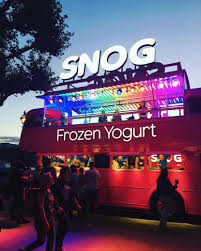 snog frozen yogurt nutritional nutrition dietetics
