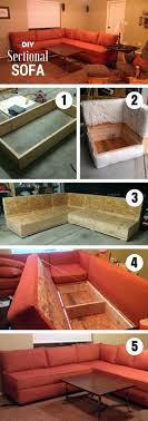 How To Build A Sectional Sofa Diy Sectional Sofa