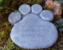memorial stones for dogs pet memorial stones etsy