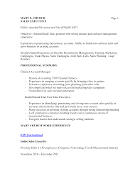 Example Sales Resumes by 100 Inside Sales Resume Examples Sample Cover Letter Social