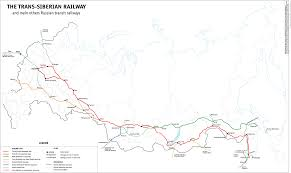 Map Russia Trans Siberian Railway Map Russia U2022 Mappery