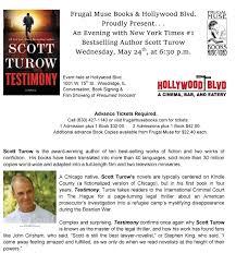 author event scott turow hollywood blvd cinema dinner and a movie