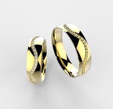 snubni prsteny zlaté snubní prsteny vlnka 026 výroba šperků