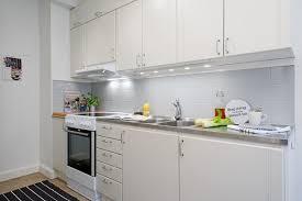 Kitchen Design For Small Apartment Swedish Small Apartment Kitchen Design Home Round