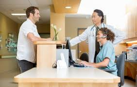 Hospital Reception Desk Hospital Grade Cleaning For Non Acute Facilities Dsc Solutions