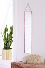 miroir chambre ado miroir suspendu pleine longueur annika idees chambre et miroir