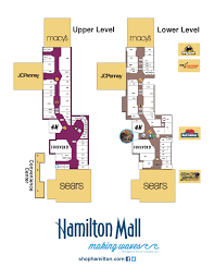 Jersey Gardens Mall Map Map Of Hamilton Mall In Mays Landing Nj Store Directory