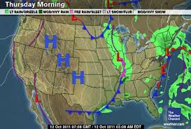 weather fronts map how to read this morning s weather map the awl