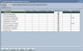 Oracle Drop Table If Exists Developing A Knowledge Module In Oracle Data Integrator