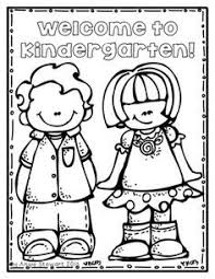 coloring pages for kindergarten first and last day of kindergarten coloring pages kindergarten