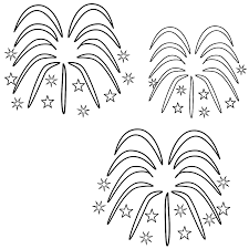 fireworks coloring pages 02 coloring other pinterest