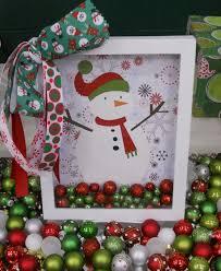 snowman shadow box xmas craft pinterest shadow box snowman