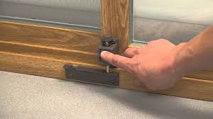 Sunrise Patio Doors by How To Mount And Use A Lang Exterior Patio Door Toe Lock Youtube