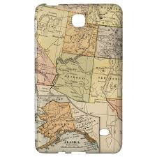 Images Of The Usa Map by Vintage South West Usa Map Slim Fit Case Fits Ipad Samsung