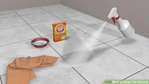 best way clean fancy wood tile flooring as mopping tile floors