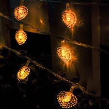 heart shaped christmas lights 10m 70led 220v heart shaped fairy led string lights xmas christmas